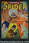 The Spider Nov 1933 SECOND ISSUE Walter Baumhofer Cvr