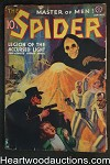 The Spider Jan 1938 John Newton Howitt Skeleton Horror Cvr, Doc Turner
