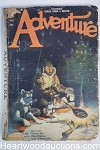 Adventure Jan 20, 1923 Colcord Heurlin Cover,  Arthur O. Friel