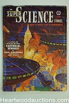 Super Science Jun 1951 John D. MacDonald, Robert Bloch, Van Dongan cover