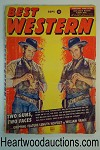 Best Western Sep 1956 Double gunfighter Cvr, Wayne Overholser