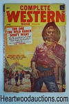 Complete Western Book Jun 1956 Jim Bentley Art Wayne D. Overholser
