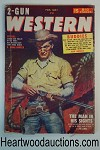 Two Gun Western Feb 1957 Sheriff with a Winchester, Ed Earl Repp