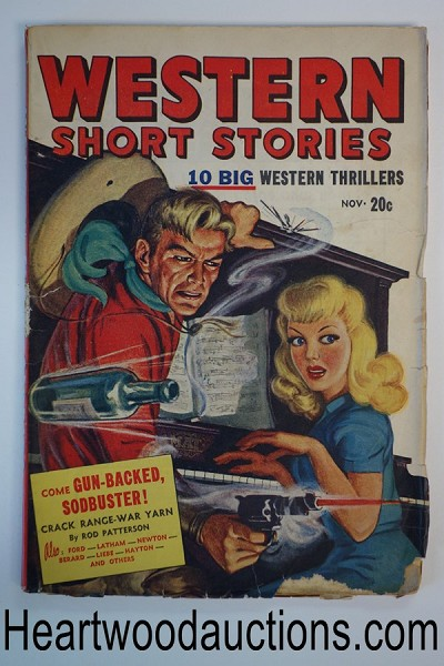 Western Novels and Short Stories Nov 1947 GGA Cvr