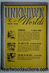 Unknown Worlds (British) Jun 1942 L. Ron Hubbard, N. Bond, F.B. Long, Boucher