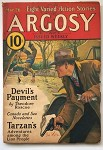 Argosy Mar 26, 1932 Edgar Rice Burroughs - Tarzan and the City of Gold (3/6)