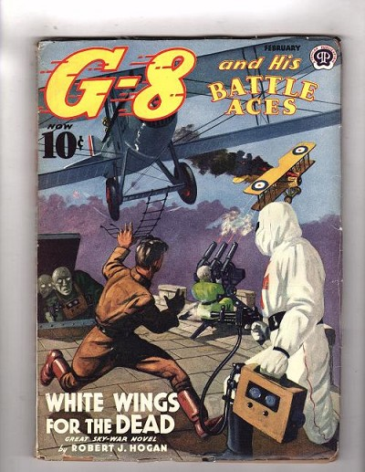 "G-8 Battle Aces Feb 1940 ""White Wings for the Dead. File Copy."