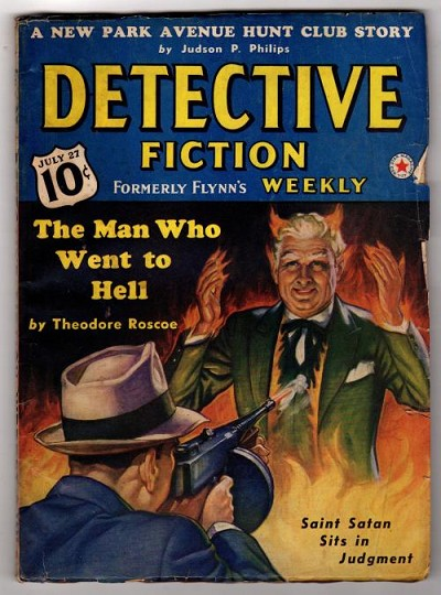 Detective Fiction Weekly July 27 1940 Fredric Brown, Park Avenue Hunt Club