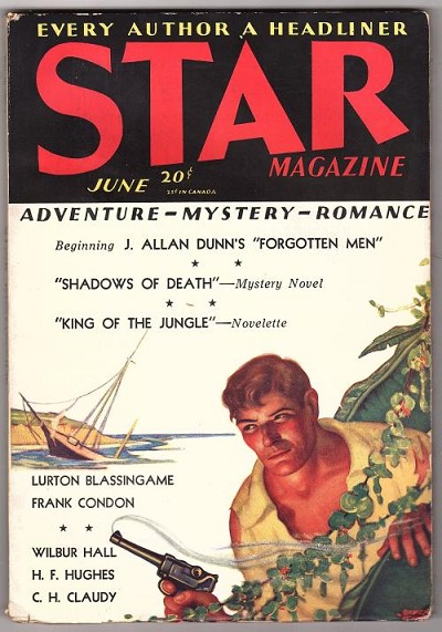 Star Magazine Jun 1931 Duncan McMillan cover