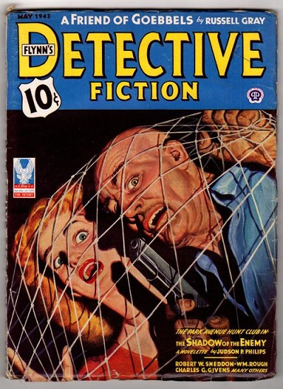 Detective Fiction Weekly May 1943 Park Avenue Hunt Club