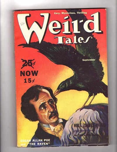 Weird Tales Sep 1939 H.P. Lovecraft - Cool Air Virgil Finlay Cover