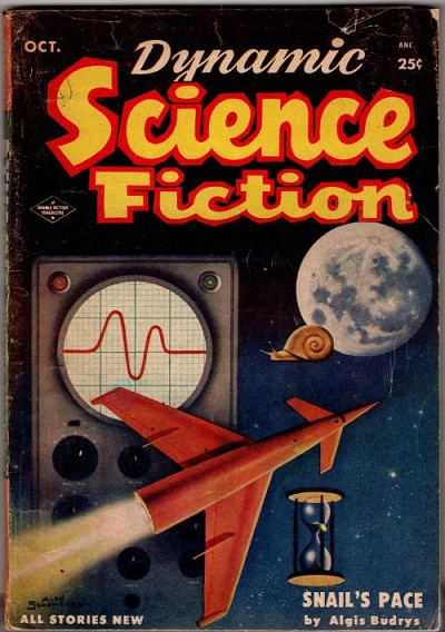 Dynamic Science Fiction October 1953 Alex Schomberg Cvr