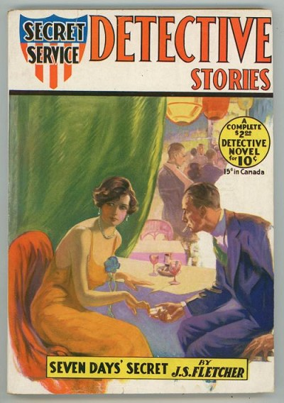 Secret Service Detective Stories Nov 1930  FIRST issue