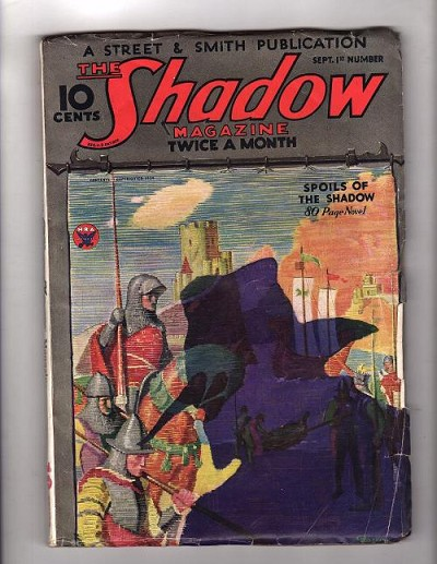 The Shadow  Sep 01, 1934  Spoils of the Shadow