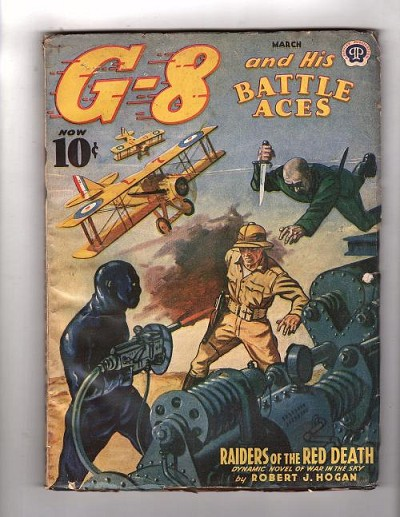 "G 8 Battle Aces Mar 1941 ""Raiders of the Red Death"
