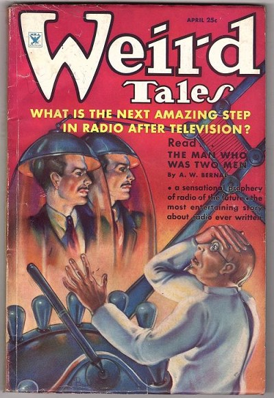 Weird Tales Apr 1935 Brundage Cvr; H.P. Lovecraft; OA Kline; Wandrei; CA Smith