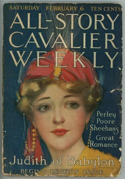 All Story Cavalier Weekly Feb 6, 1915 Burroughs - Sweetheart Primeval (3/4); NO BC