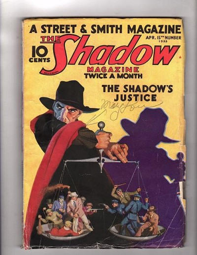 The Shadow Apr 15 1933 G Rozen Cover Art