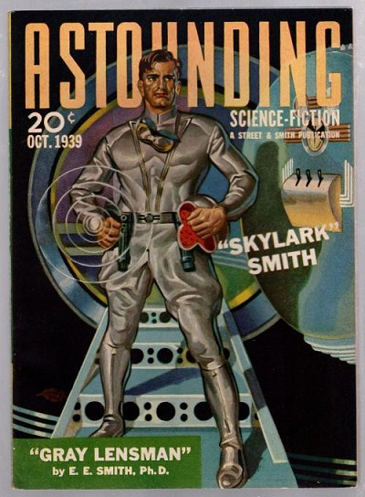 Astounding Oct 1939 pt.1 of Lensman Serial by EE Smith