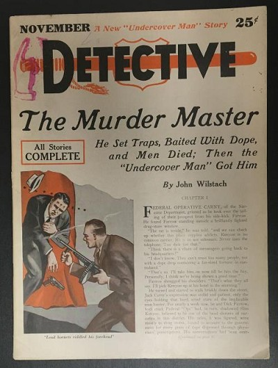 Detective Nov 1933 FIRST issue; SCARCE