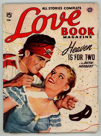 "Love Book Feb 1948 Ruth Herbert ""Heaven is for Two"""