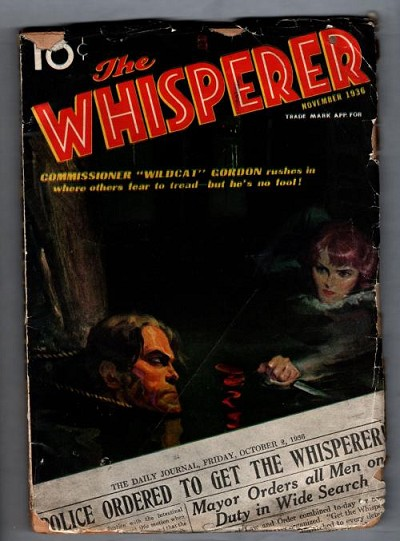 The Whisperer Nov 1936 Volume 1 Issue 2