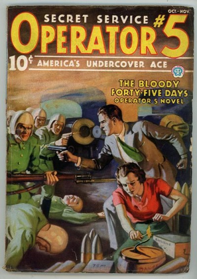Operator #5 Oct-Nov 1936 J. Howitt Cover;