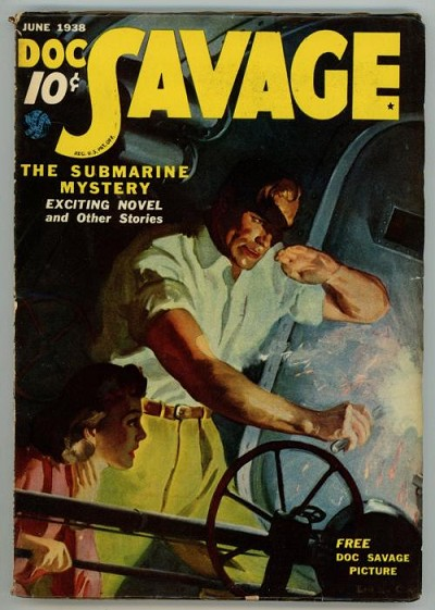 Doc Savage Jun 1938