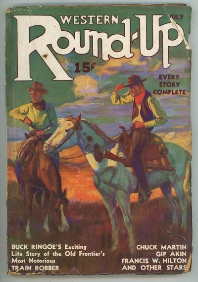 Western Round-Up Jul 1935 George Gross Cover Art