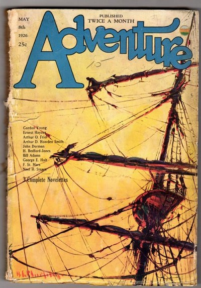 Adventure May 8 1926; Arthur O. Friel; Gordon Young; H.C. Murphy
