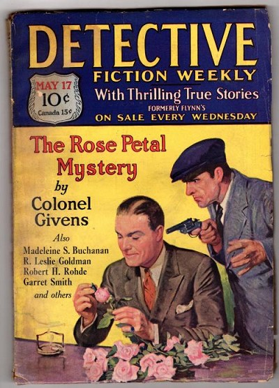 Detective Fiction Weekly May 17 1930; Madeleine S. Buchanan; R.L. Goldman