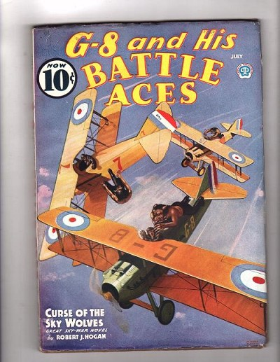 G-8 Battle Aces Jul 1936 Robert J. Hogan, Frederick Blakeslee