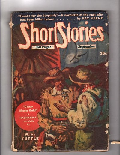 Short Stories Sep 1946 Day Keene, Ryerson Johnson, H. Bedford-Jones