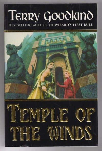 Temple of the Winds by Terry Goodkind (First thus) Gollancz File Copy