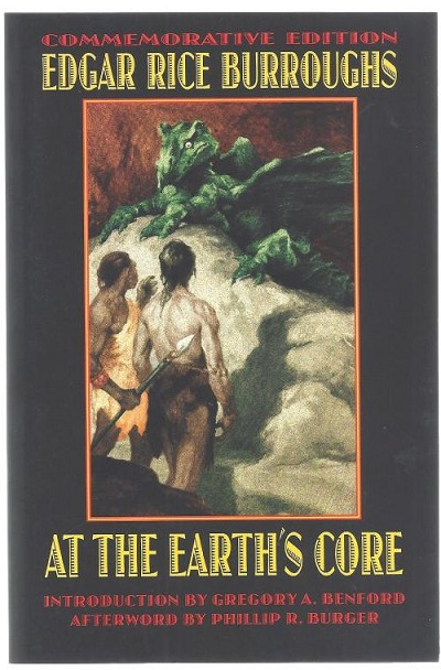 At the Earth's Core by Edgar Rice Burroughs (First Bison Print)