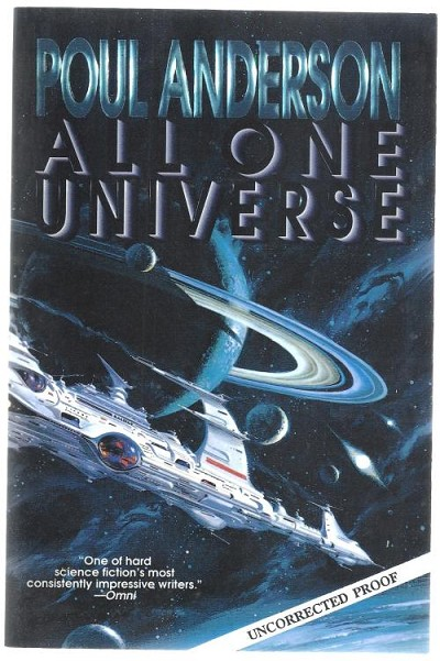 All One Universe by Poul Anderson (First Edition)