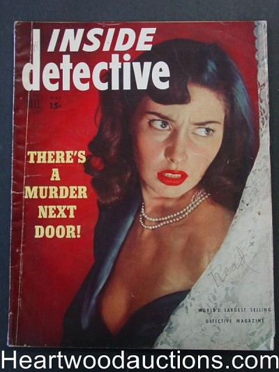 """Inside Detective"" May 1950"