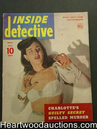 """Inside Detective"" March 1947"