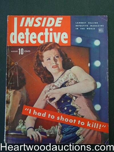 """Inside Detective"" August 1944"
