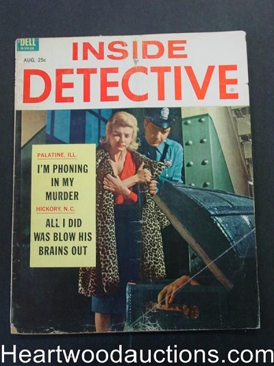 """Inside Detective"" August 1962"