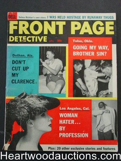 """Front Page Detective"" October 1956"