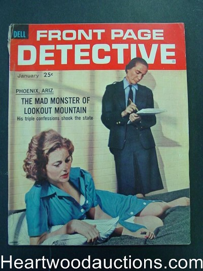 """Front Page Detective"" January 1962 Woman In Prison"