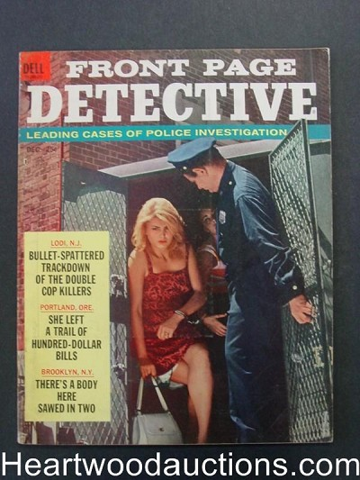 """Front Page Detective"" December 1963 Woman In Prison"