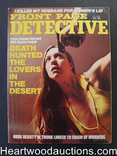 """Front Page Detective"" January 1975"