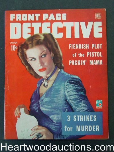 """Front Page Detective"" March 1944"