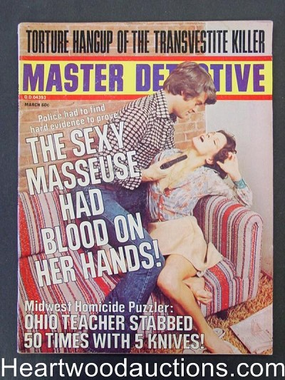 """Master Detective"" March 1975 Assault Cover"
