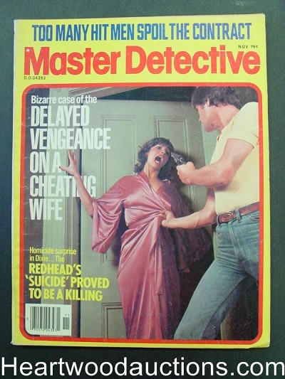 """Master Detective"" November 1978 Assault Cover"