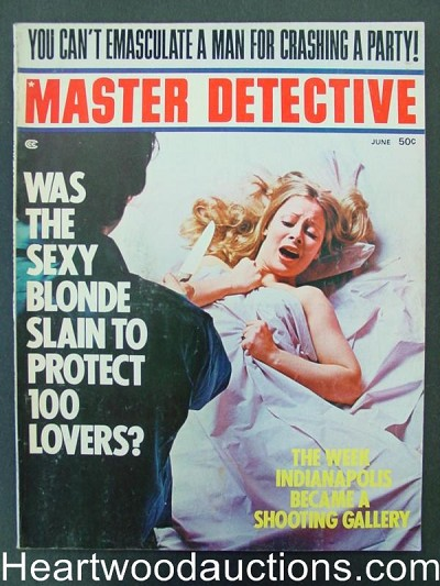 """Master Detective"" June 1973 Assault Cover"