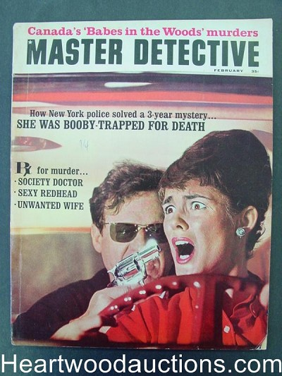 """Master Detective"" February 1965 Assault Cover"