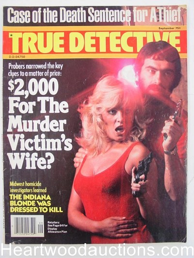 """True Detective"" September 1978 Bad Girl Cover"